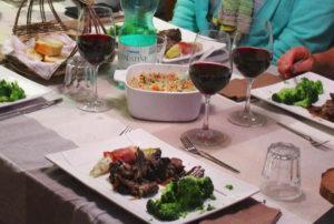 3 gangen diner bij A-Rigaud