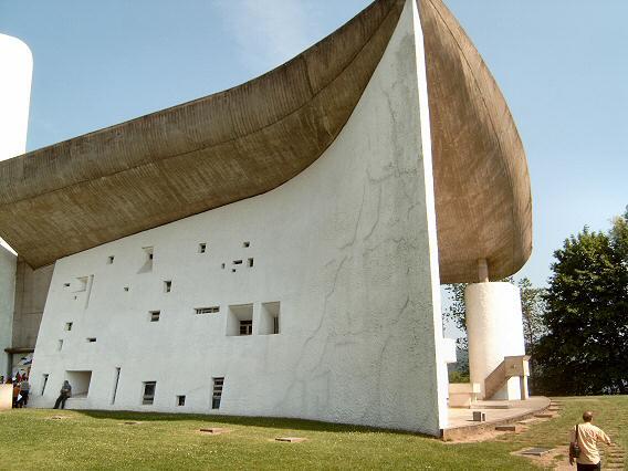 Chapel notre dame de Ronchamp