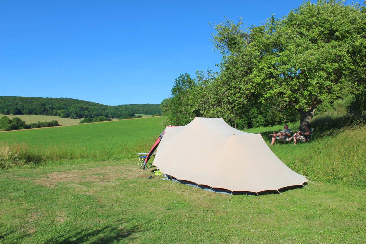 campingplekken met uitzicht