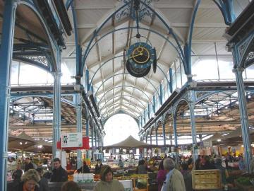 Dijon , Markthallen