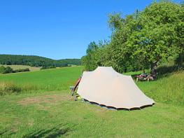 zomervakantie op B&b minicamping A-Rigaud in de Haute Saône