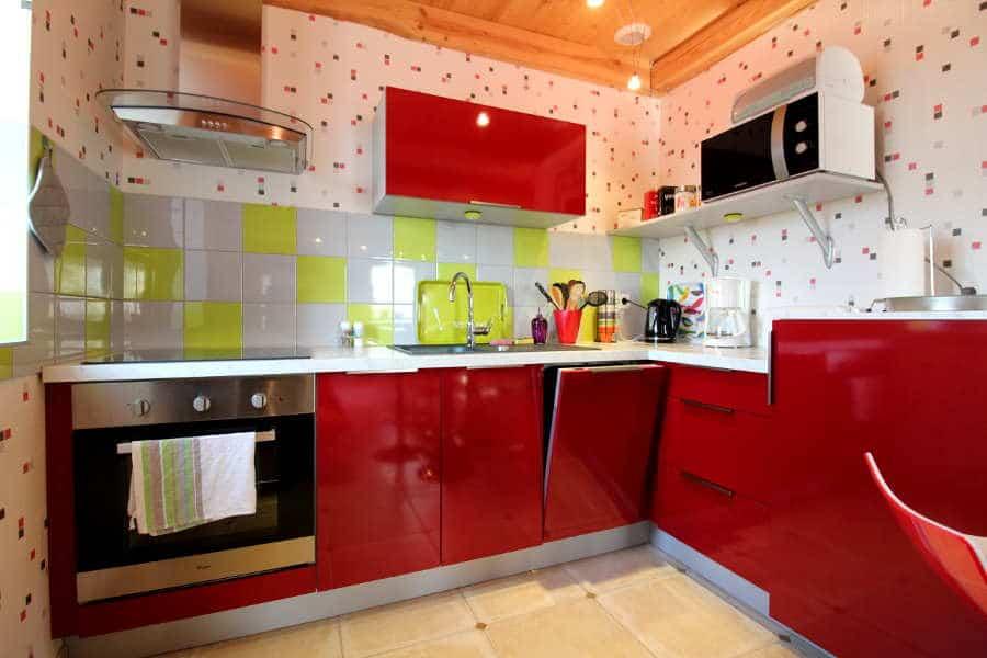 keuken bij Chez Petit
